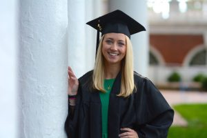 Monica Casey Graduation Photo