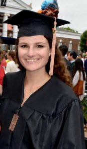Christie Lombardi Graduation Photo